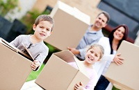 helping child transition with move